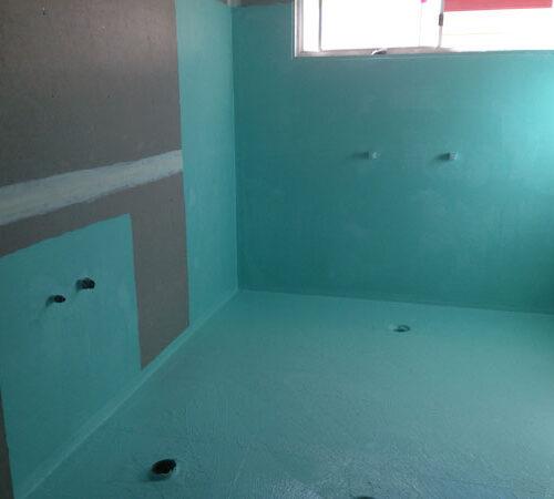 Waterproofing for wet areas